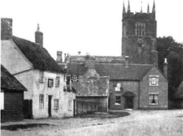 The village of Blunham, Bedfordshire, a hundred years ago