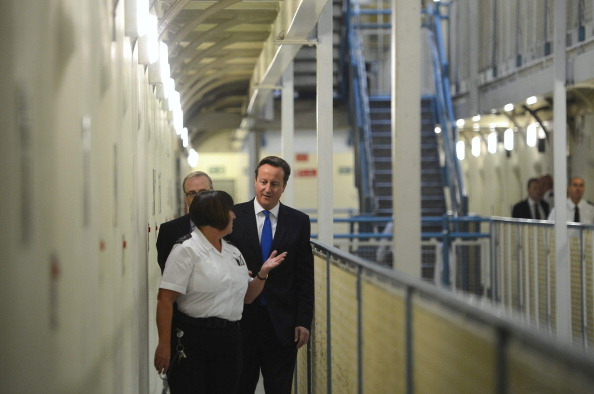 Prime Minister David Cameron Visits Wormwood Scrubs Prison And Makes A Speech On Criminal Justice