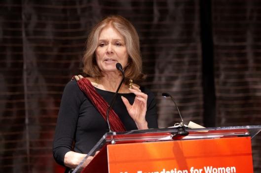 Gloria Steinem (via Wikipedia)