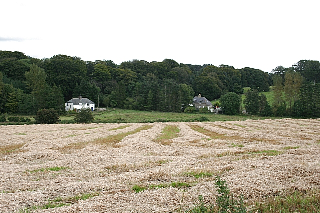 Mains of Badenscoth farm, Auchterless, Aberdeenshire, where my ancestors lived in the early 18th century