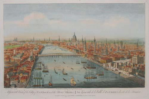 London in the middle of the 18th century