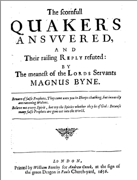 Cover of Magnus Byne's book