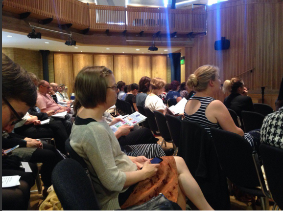 Conference delegates (via Ros Edwards on Twitter)